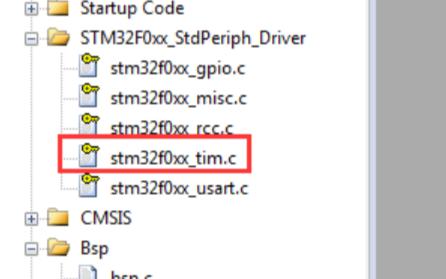 STM32F0xx_ TIM基本延时配置详细过程
