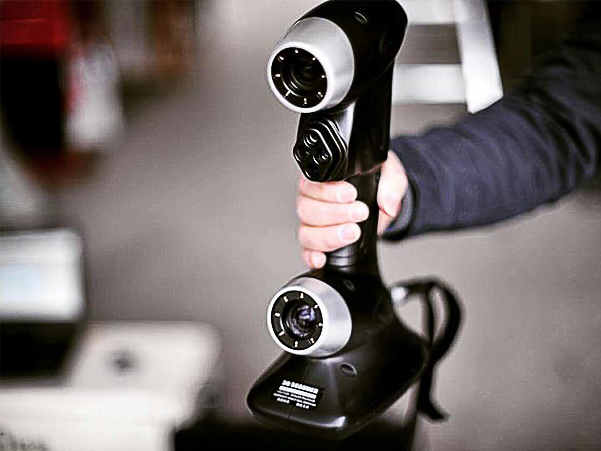 军工弯管设计服务抄数公司激光扫描仪三维测量弯管模...