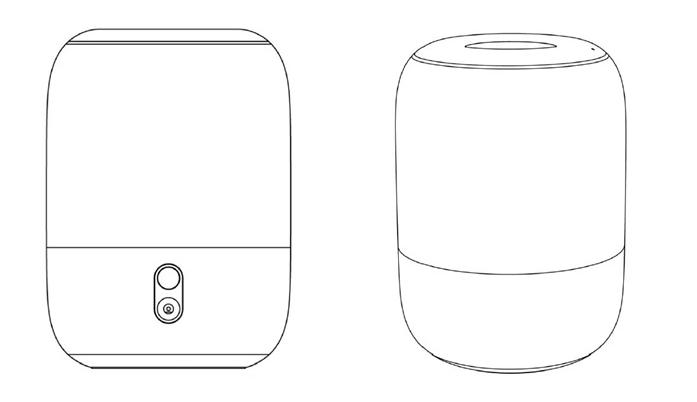 小米智能音箱新专利 采用圆柱形设计