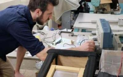 科学家利用模拟超材料来实现弯曲微波和禁止频率