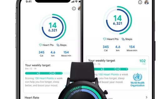 谷歌健身追踪应用的新用户界面