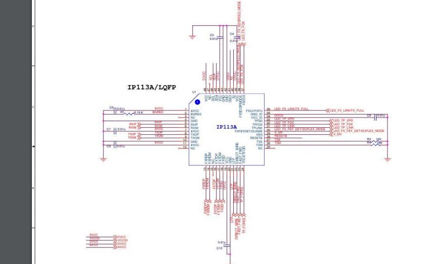 IP113A主控芯片的开发板原理图免费下载