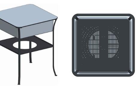 OPPO申请无线充电桌专利