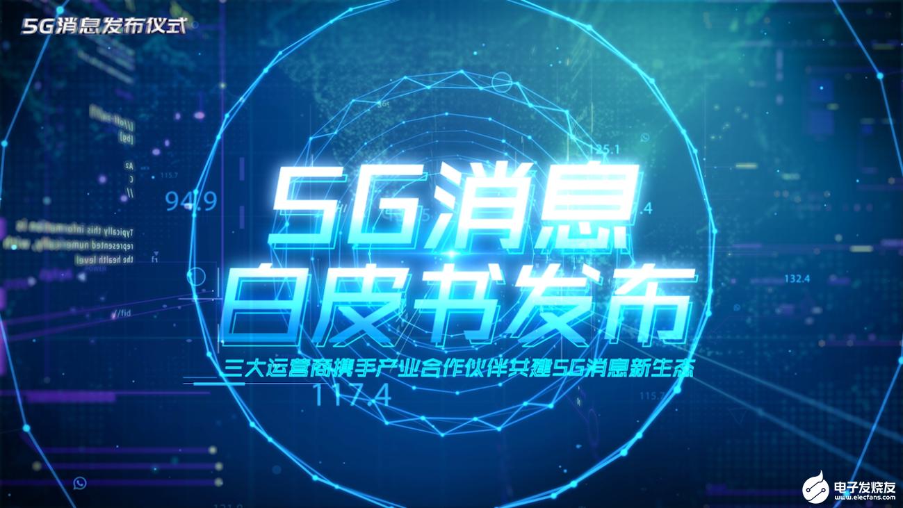我国三大运营商共同发布了5G消息白皮书
