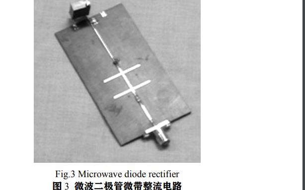 如何实现一个2.45GHz的微波二极管整流电路