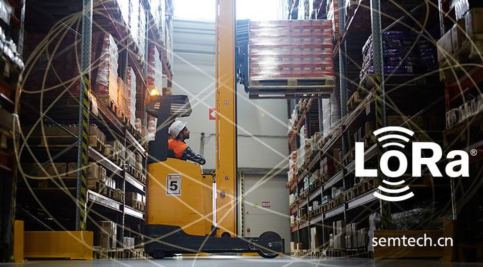 Semtech的LoRa®器件可跟踪托盘的位置,从而优化运输和物流