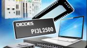 Diodes推出业界首款2.5/5/10Gbps以太网络LAN多路复用器/解复用器