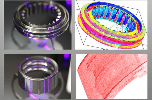手持式三维扫描仪对工业三维检测铸造模具冲压模具三...