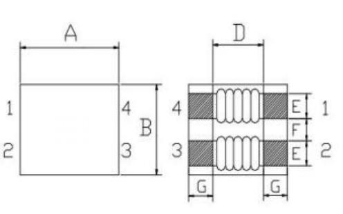 TLDCM4745系列共模电感滤波器的数据手册免费下载
