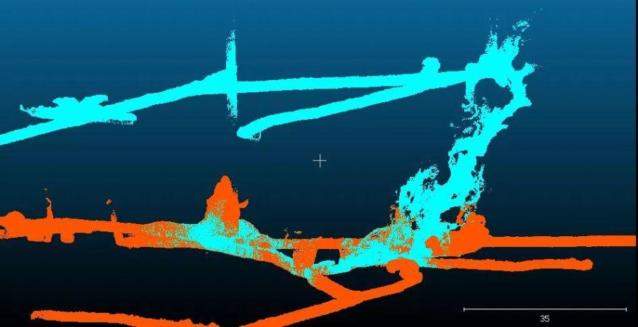 3D激光扫描仪整个采矿系统进行全面激光扫描调查