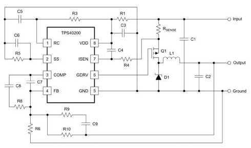 基于一種驅動多個LED燈串的電路設計