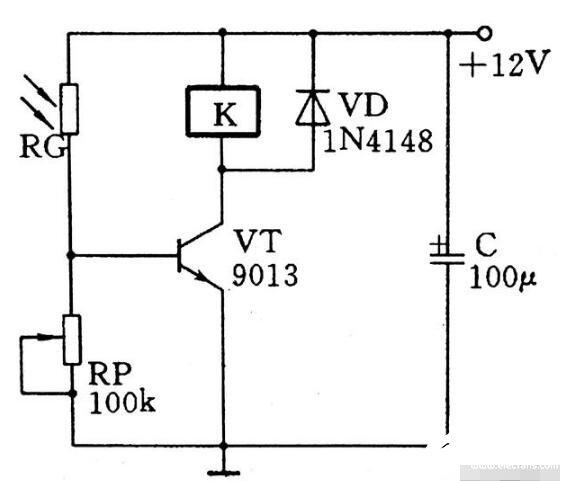 简单的亮通开关电路图解析