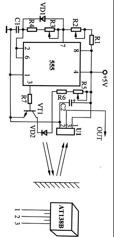 红外光接近开关电路原理图