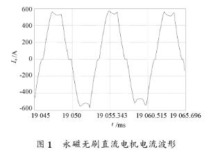 永磁無刷直流電機控制器中IGBT模塊的熱計算、仿...