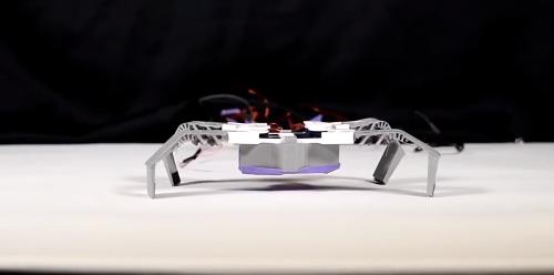"""科学家受昆虫的""""外骨骼""""启发 使用3D打印机制作出柔性骨架机器人"""