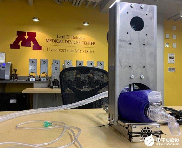FDA授权制造Coventor呼吸机 制造成本仅在1000美元左右