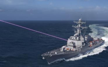 美國海軍正在研制三種新型艦載武器