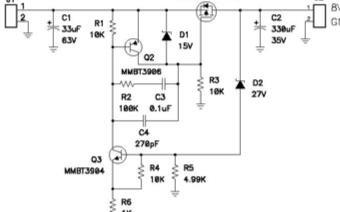 电压箝位电路在汽车电气系统中的应用分析