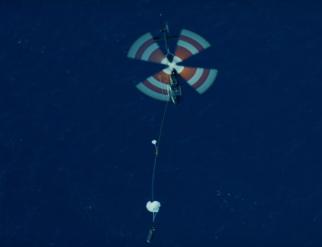 Rocket Lab公司成功進行了直升機回收火箭助推器部件測試