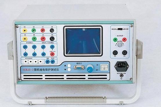 继电保护测试仪的使用说明