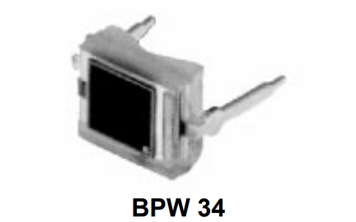 BPW34光電二極管的數據手冊免費下載