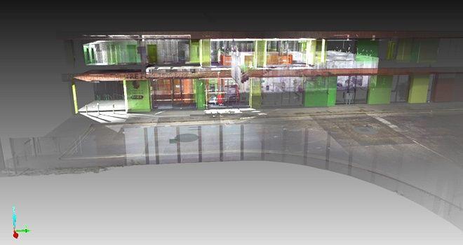 3d扫描仪大空间扫描三维扫描技术用于老旧建筑室内...