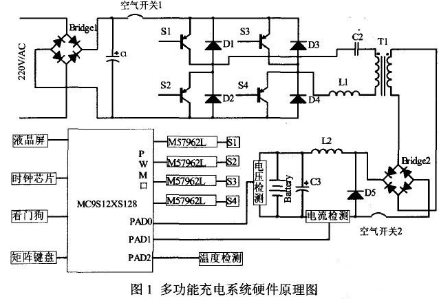 基于單片機控制的多功能充電系統設計