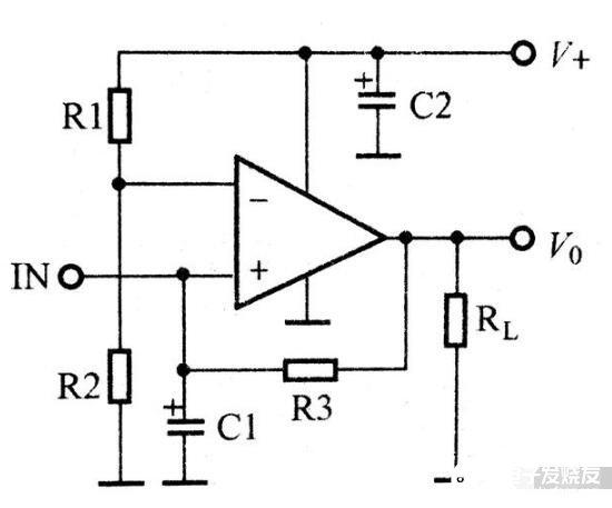 由集成運放組成的記憶功能電路