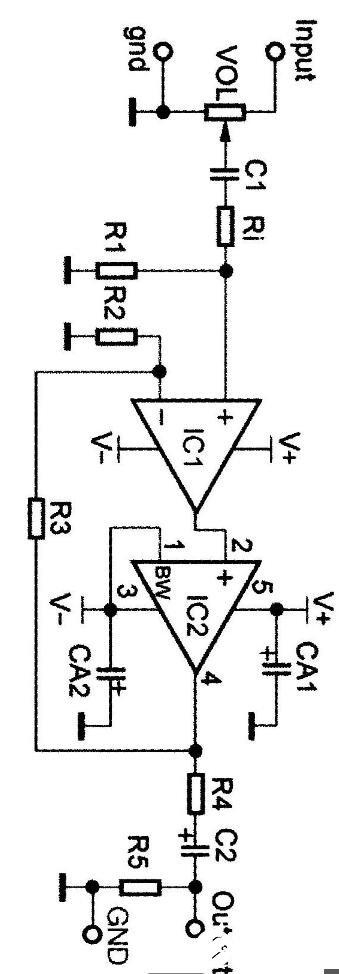 UCP耳放的電路原理圖_UCP耳放的電源電路圖