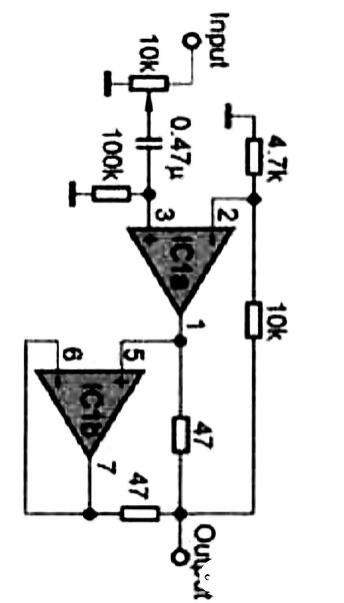 經典的47耳機放大器電路圖