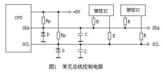 I2C总线系统中引起电压失常的原因和检修方法