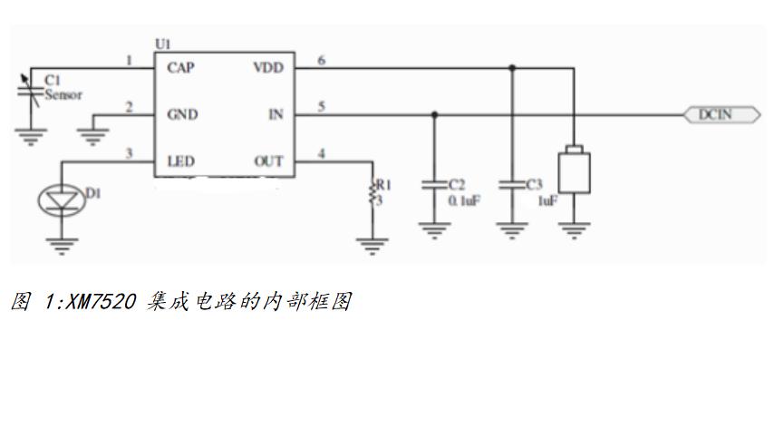 XM7520澳门金沙国际烟集成电路的数据手册话是从韩玉临免费下载