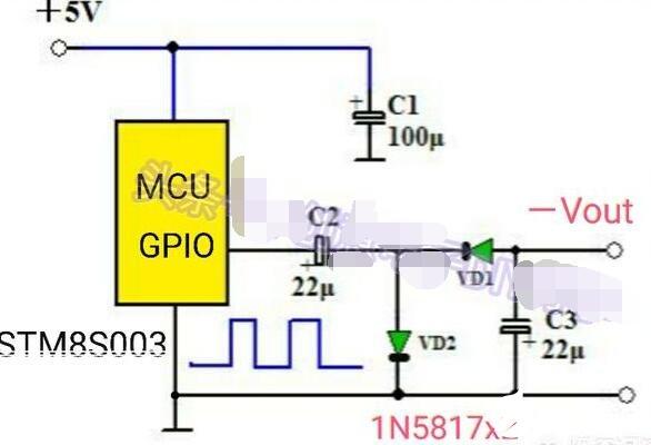 将PWM信号转为负电压的电路图解析
