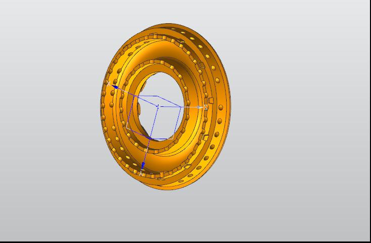 手持式三维激光扫描仪对产品3D扫描逆向抄数设计扫...