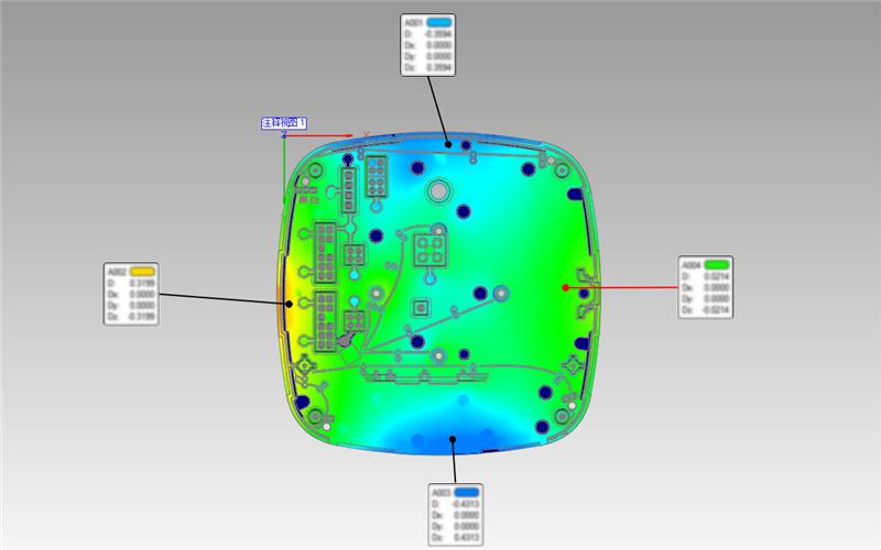 复合式双色激光三维激光仪高精度高细节三维扫描仪超...