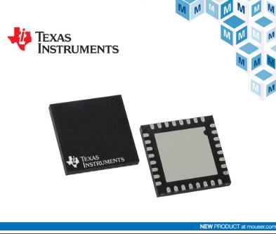 TI LMG341xR050 GaN功率级在贸泽开售 支持高密度电源转换设计