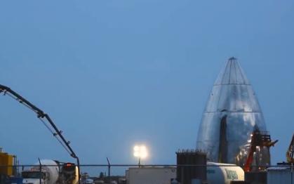 SpaceX SN4星际飞船原型机将进行150米...