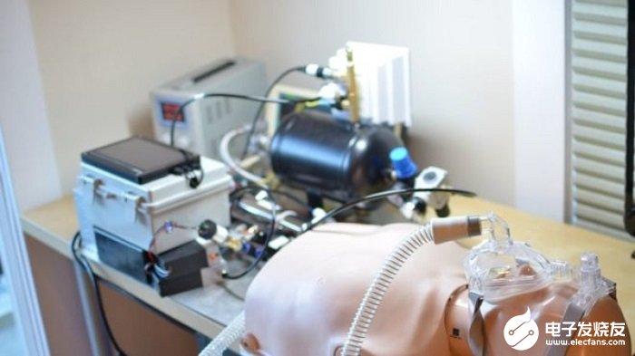 哥伦比亚即将测试一款由树莓派驱动的呼吸机 整体结...