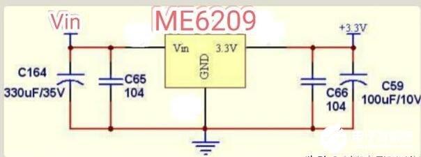 把鋰電池3.7V的電壓降到3.3V的方法