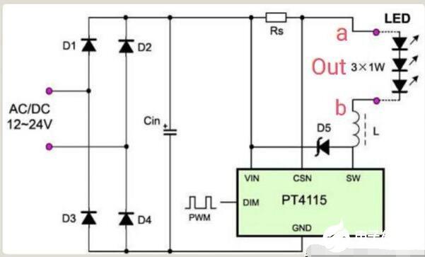 如何区分LED开关电源是恒流和恒压