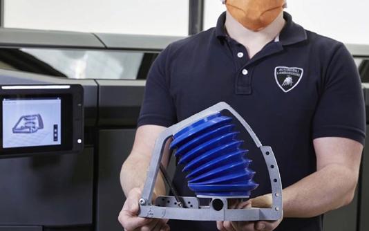 兰博基尼利用3D打印生产呼吸机 每周产能达到18...