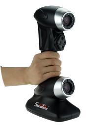 便携式三维扫描仪在汽车三维检测维修应用方案整车汽车内饰扫描检测