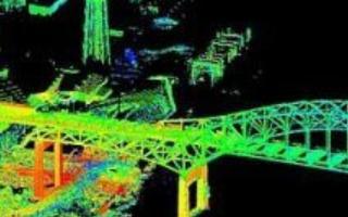 三维激光扫描仪扫描项目现场捕捉建筑物基础设施和工...