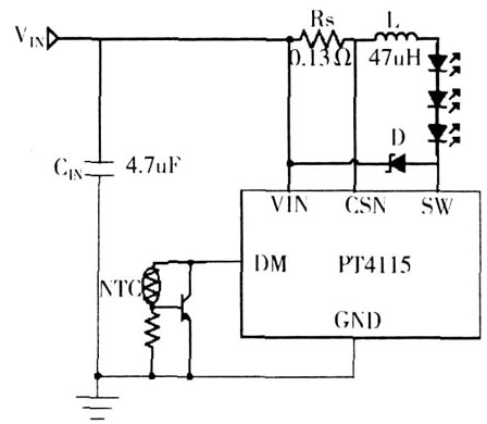 LED线性驱动和开关型驱动的方式解析