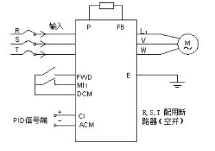 SAJ系列通用型變頻器的特點及對螺桿式空氣壓縮機...