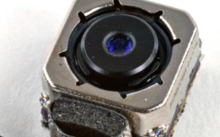 手机摄像头结构分析及测试中弹片微针模组的优势