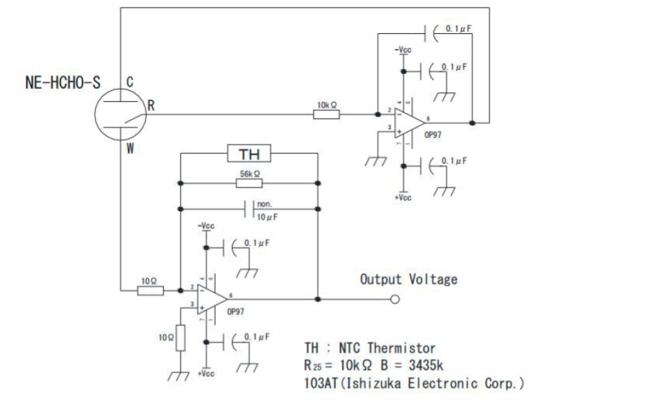 NE-HCHO-S工业级电化学甲醛传感器的技术手册免费下载