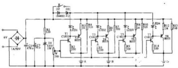 两款自动并联充电器电路图解析
