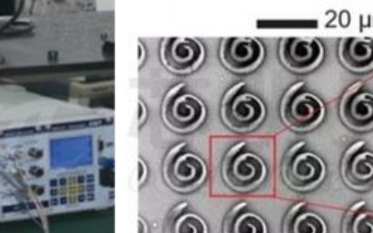 纳米光刻中的压电扫描台