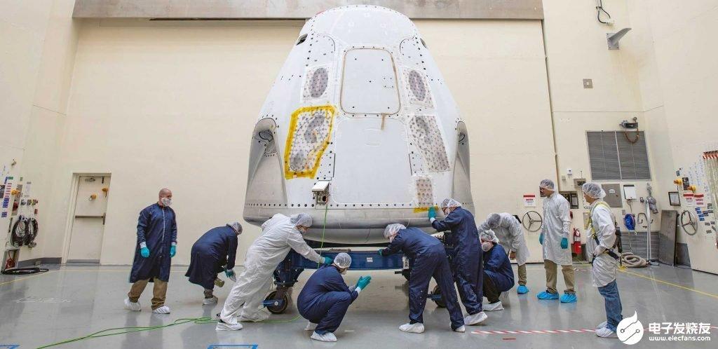 NASA表示SpaceX載人龍飛船首次載人試飛仍將按計劃發射